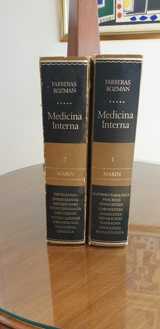 Medicina interna FARRERAS ROZMAN 1° Edición 1978.