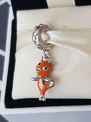 Charm colgante Pandora Disney Pájaro Naranja