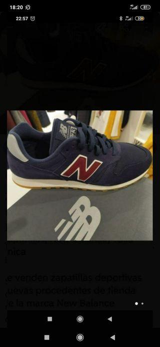 Zapatiillas dep. nuevas New Balance N. 41'5 y 44
