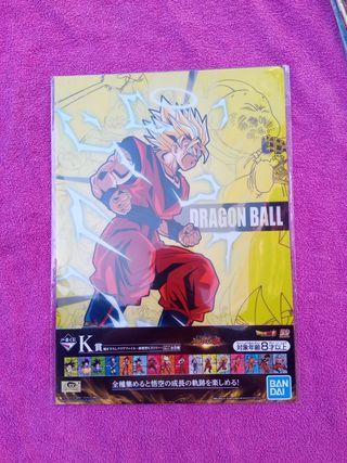 DRAGON BALL - SET de 2 CLEAR FILE Ichiban Kuji