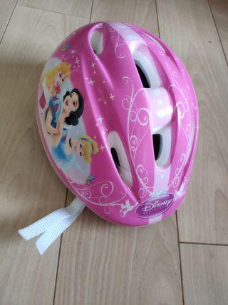 Casco bicicleta Princesas Disney