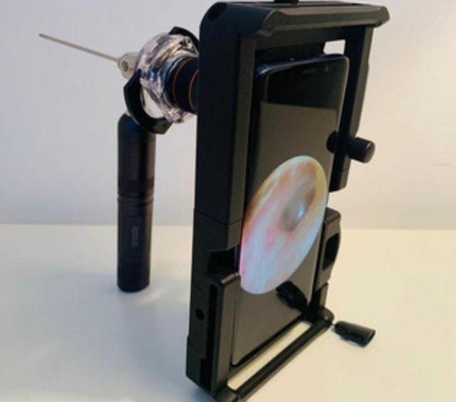 adaptador de endoscopio para smartphone