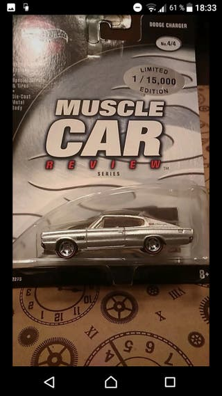 Dodge Charger 2002 Limited ed Hot wheels