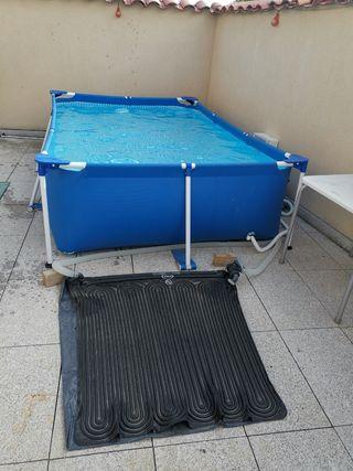 se vende calentador solar de piscina pequeña