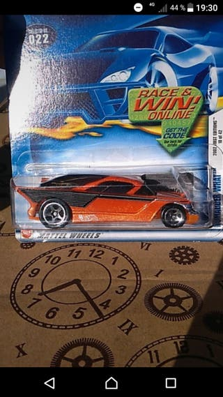 Nomadder what 2002 First ed Hot wheels