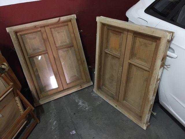 Puerta entrada y dos ventanas a juego