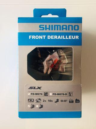 Desviador SHIMANO SLX FD-M676 2x10