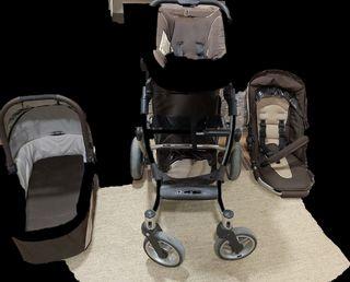 Carro, silla, maxicosi completo