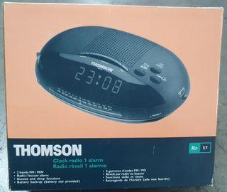 RADIO DESPERTADOR THOMSON