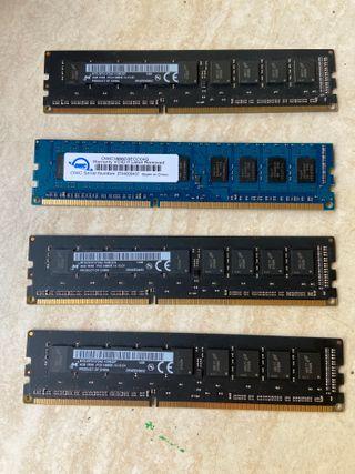 Memoria PC3 1866Mhz DDR3. Apple