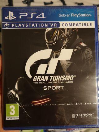Juego Gran Turismo Sport Ps4