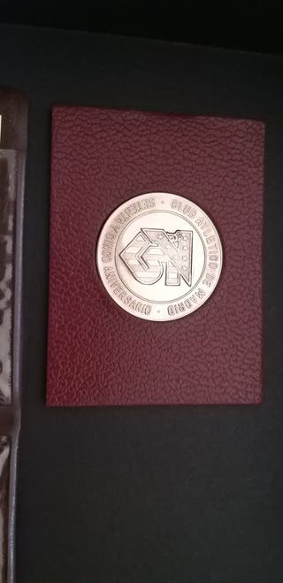 Medalla plata Club Atletico de Madrid