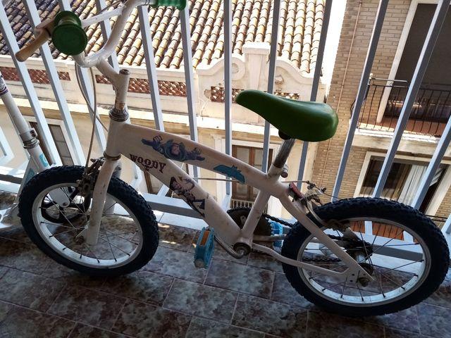 bicicleta en funcionamiento