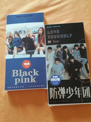 post cart BTS & black pink