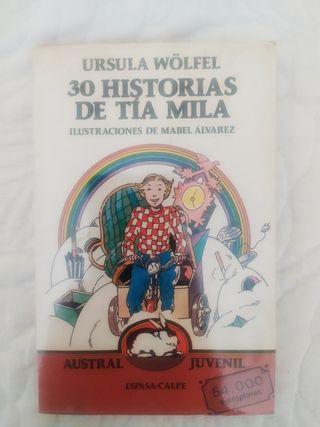 Libro 30 historias de tía Mila