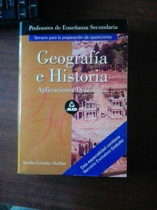 oposiciones Geografia e Historia