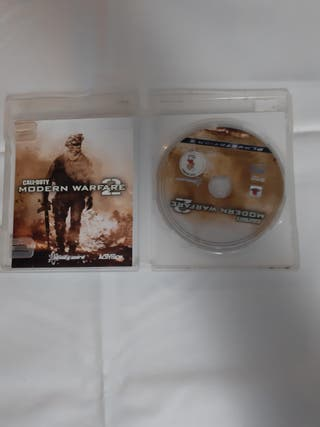 juego ps3 modern warfare 2