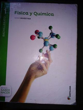 libro física y química editorial santillana