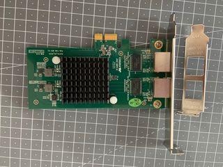 Tarjeta de Red Gigabit PCI-E Intel 82576