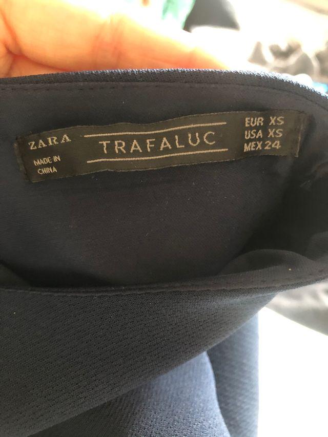 Vestido manga campana ZARA TRAFALUC