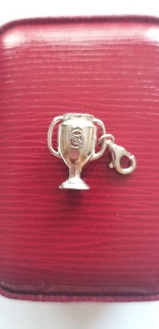 Colgante plata copa Real Madrid