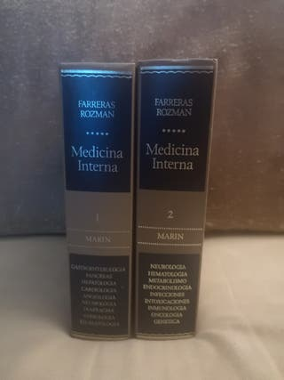 Libros medicina interna