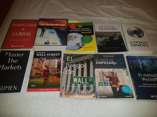 libros de economia. Financieros. trading