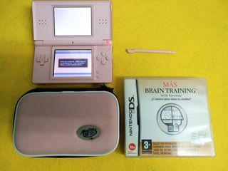 Consola Nintendo DS Lite (rosa)
