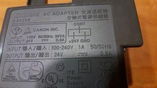 fuente alimentacion Canon k30256 24v 0.8A DC
