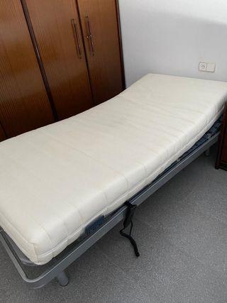Cama articulada con colchón