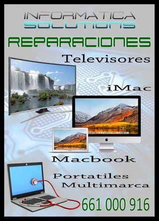 Portatiles - Televisiones - Macbook - iMac
