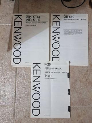 CADENA MÚSICA KENWOOD