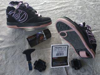 Zapatillas con ruedas #Heelys
