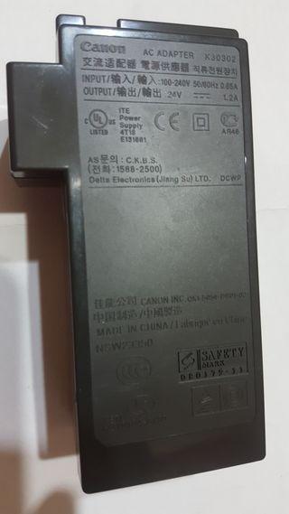 fuente Canon k30302 24v 1.2A DC