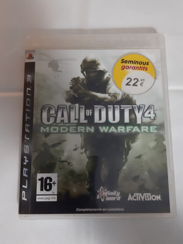 juego ps3 call of duty 4 modern warfare
