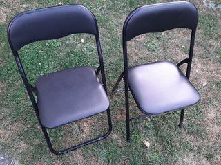 sillas plegables nuevas