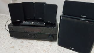 amplificador yamaha htr2067