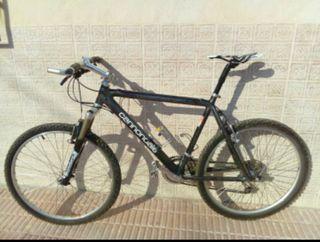 Bicicleta mtb clasica Cannondale