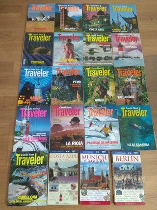 Lote de revistas de viaje de la colección Conde Na
