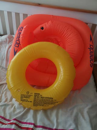 baby swimming seat and swimming ring