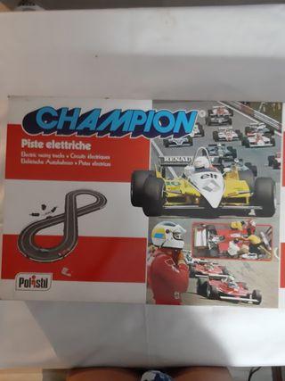 pista de coches f1 champion polistil