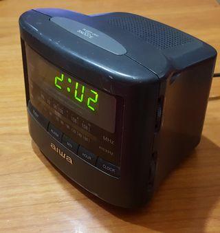 Radio Despertador Aiwa digital