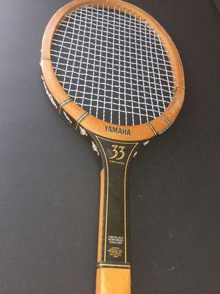 Raqueta de tenis retro vintage YAMAHA 33