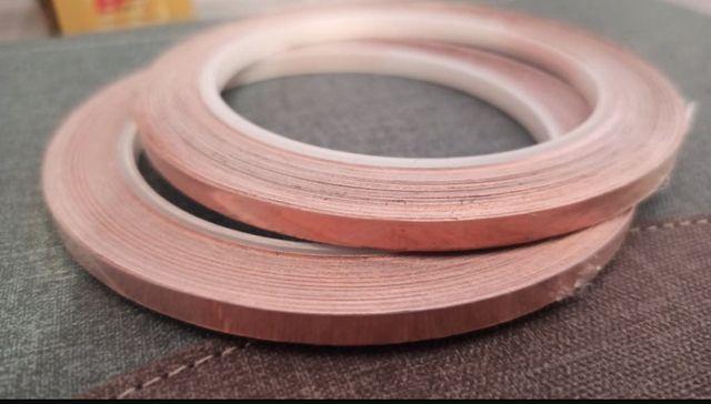 2 rollos cinta cobre pistas scalextric