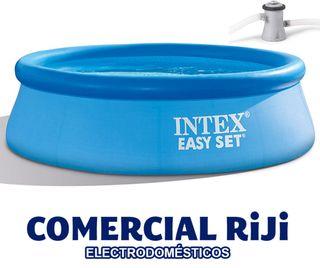 Piscina Intex con depuradora 244 cm
