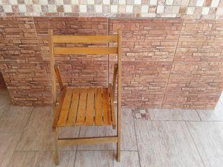 5 sillas de madera. REBAJADAS!!!!!