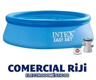 Piscina Intex 244 cm + depuradora