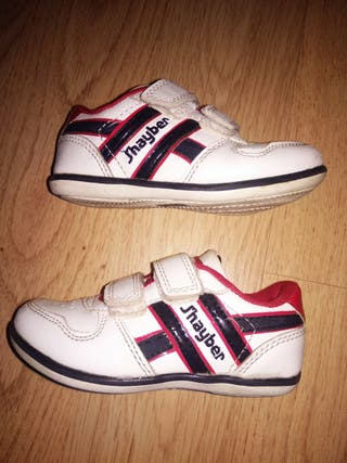 Zapatillas piel niño J'Hayber TALLA 22
