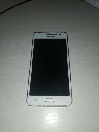 Samsung galaxy grand prime con fundas y cargador