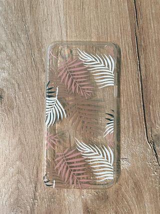 Funda hojas doradas iPhone 7 / 8